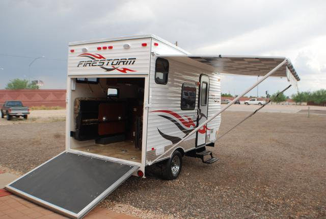 Used Toy Haulers : R s used inventory dunesport toy haulers rvs
