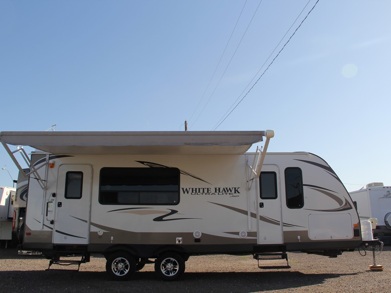 2012 29ft Jayco White Hawk 26SRK Camping Trailer