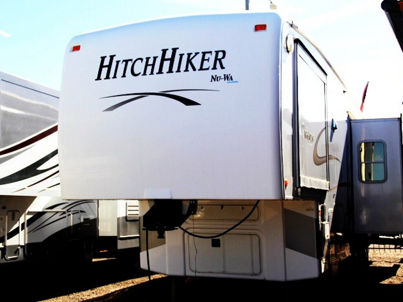 Nu Wa Hitchhiker Champagne 37ckrd 2006 38ft Fifth Wheel
