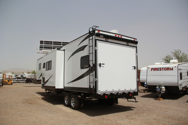 Dynamite Firestorm Fw34ss 2016 34ft Fifth Wheel Toy Hauler