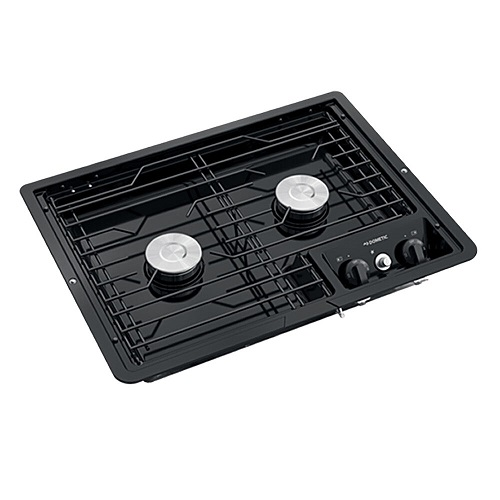 Cooktop 2 Burner Black
