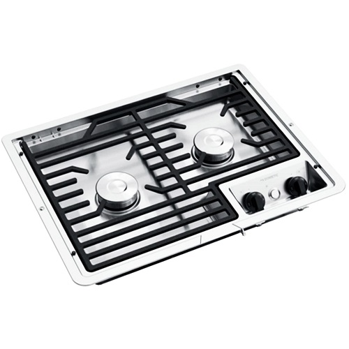 Cooktop 2 Burner Stainless Steel