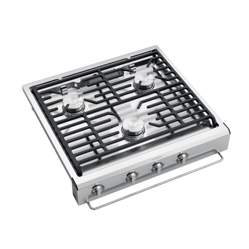 Cooktop 3 Burner Slide-In Stainless Steel