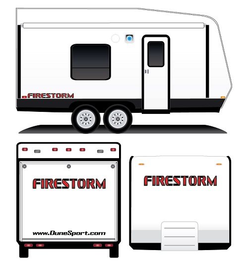 Logo Package Firestorm Red